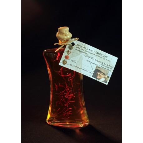Vinaigre de cidre au Safran Cynfael