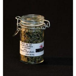 Condiment : Fleur de sel aux orties et au Safran Cynfael