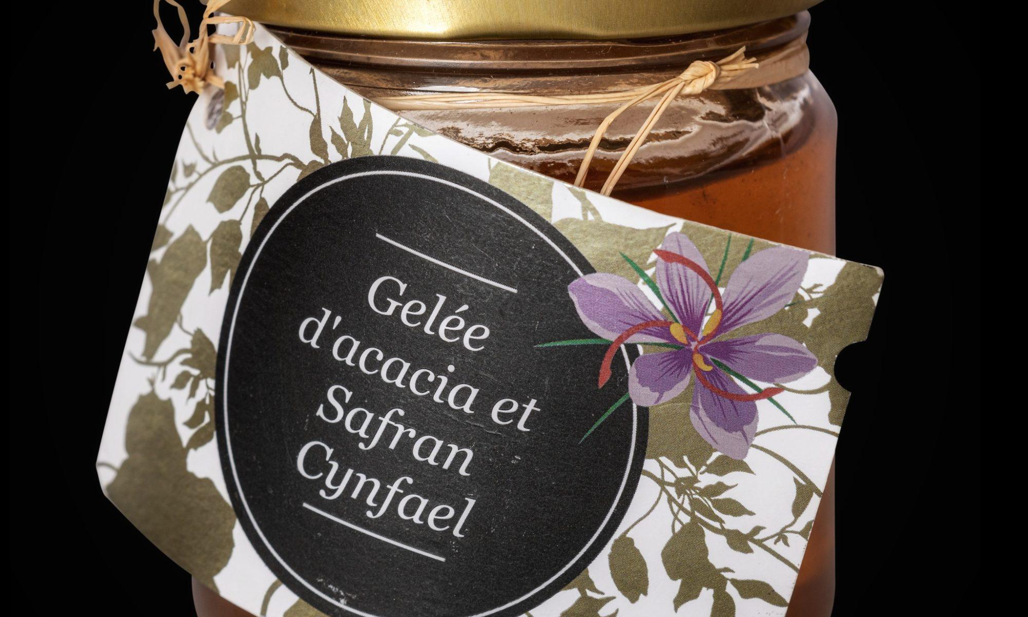 Gelée acacia et safran cynfael